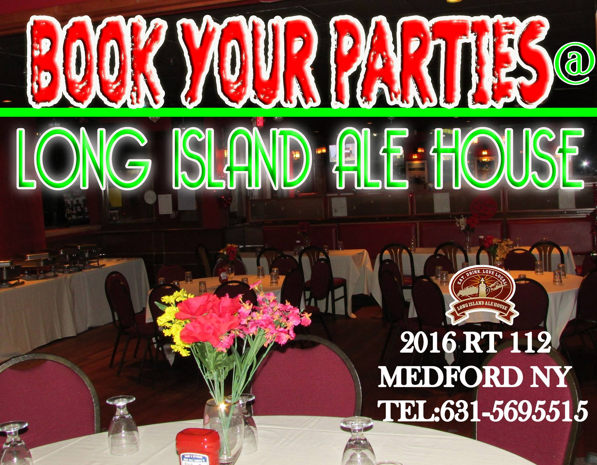Book Your Parties