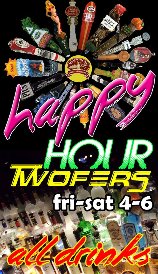 Happy Hour 2Fers All Drinks
