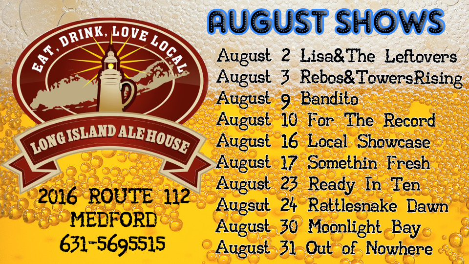 August 2013 Shows