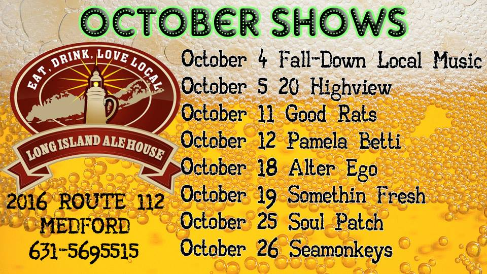 October 2013 Shows