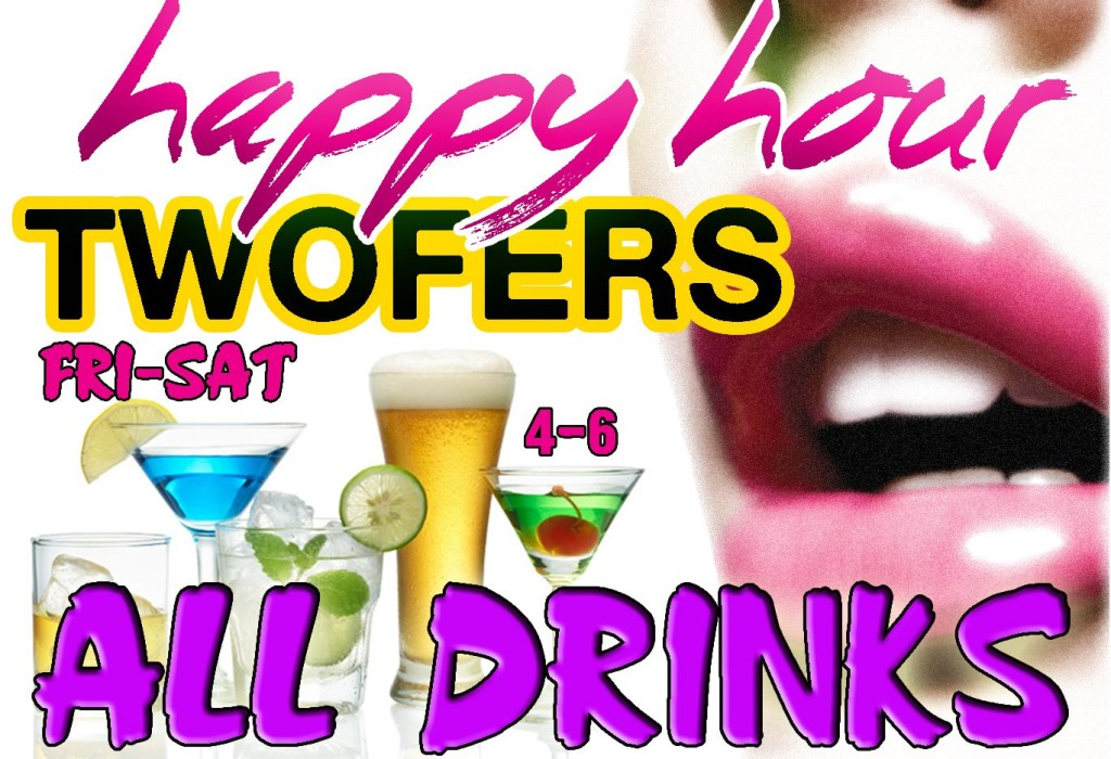 Happy Hour Two-Fers