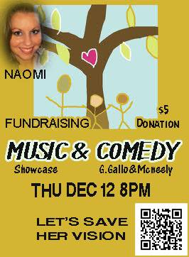 Music and Comedy Showcase