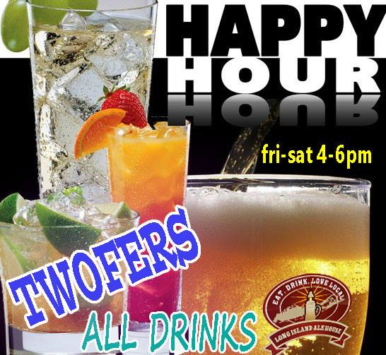 Happy Hour TwoFers