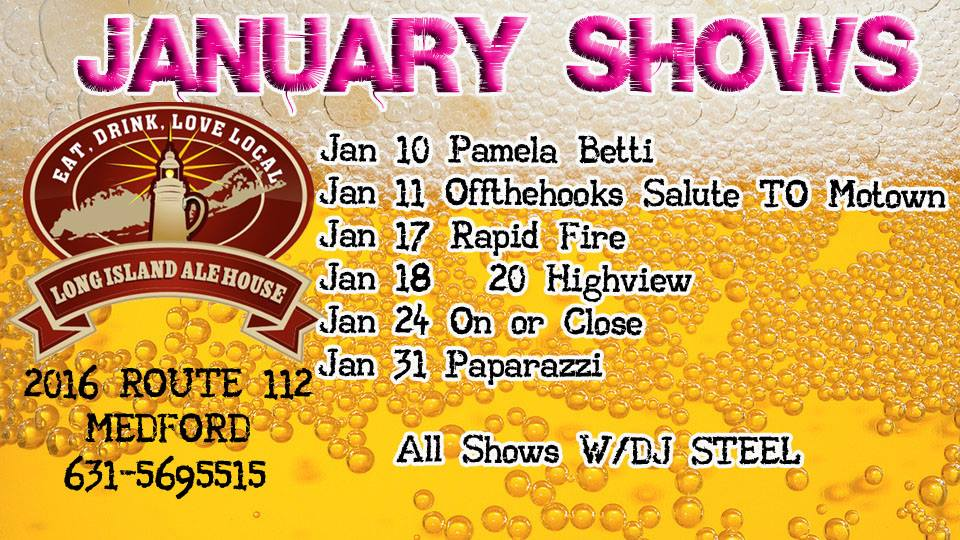 January 2014 Shows