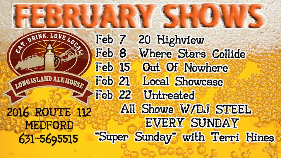 February 2014 Shows